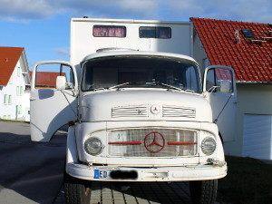 Mercedes 911, Kurzhauber, Rundhauber, Wohnmobil