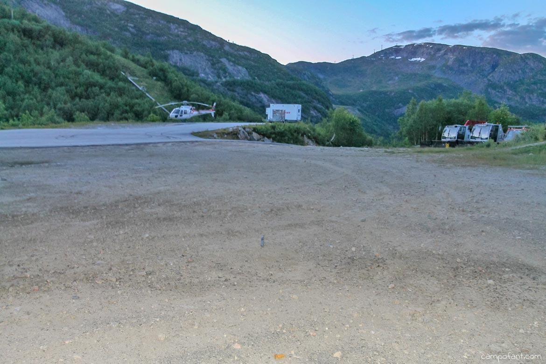 Hoyanger Stellplatz Skigebiet