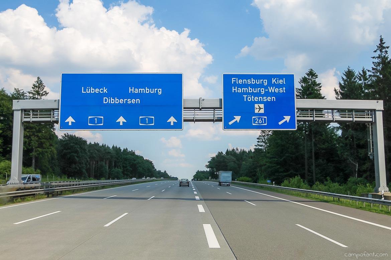 nach Hamburg