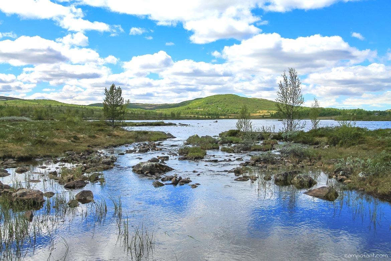 Norwegen Geilo See