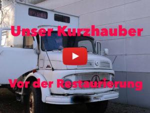Mercedes LA 911, Mercedes Kurzhauber, Kurzhauber, Reparaturen, Restaurierung, Wohnmobil, Weltreise, Vlog