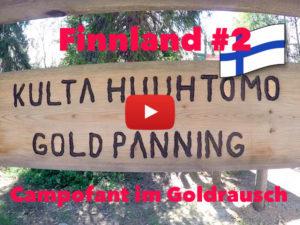Finnland, Goldwaschen, Goldrausch, Gold Panning, Vlog