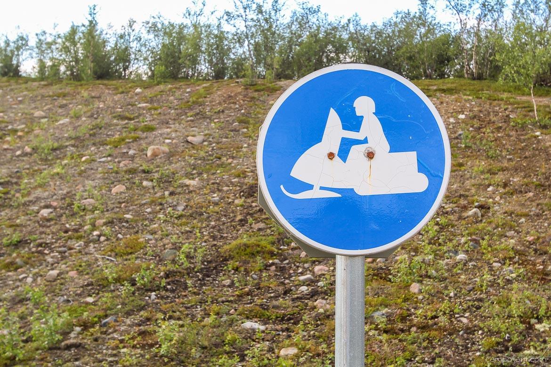 Finnmarksvidda Schneemobil