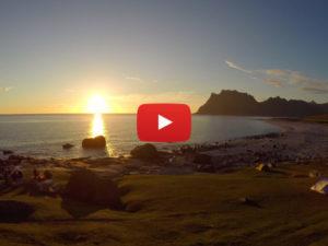 Norwegen, Mitternachtssonne, Time Lapse, Zeitraffer, Video, Vlog