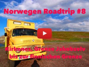 Norwegen, Roadtrip, Rundreise, Kirkenes, Grense Jakobselv, russische Grenze, Vlog
