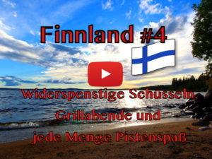 Finnland, Grillen, Offroad, Piste, Wohnmobil, Vlog