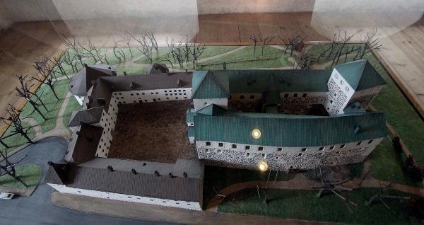 Modell Burg Turku