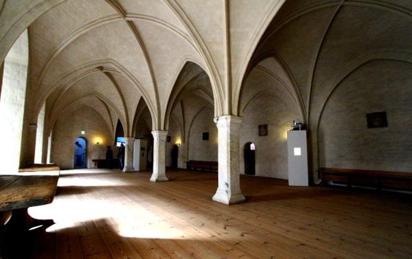 Burg Turku prächtiges Gewölbe