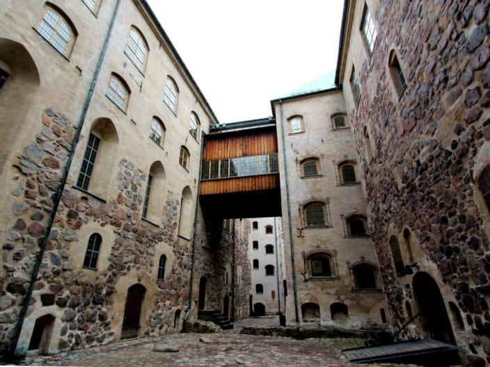 Burg Turku Innenhof