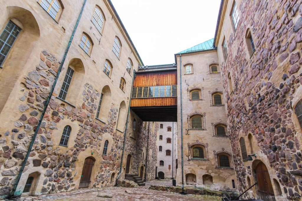 Burg Turku Finnland