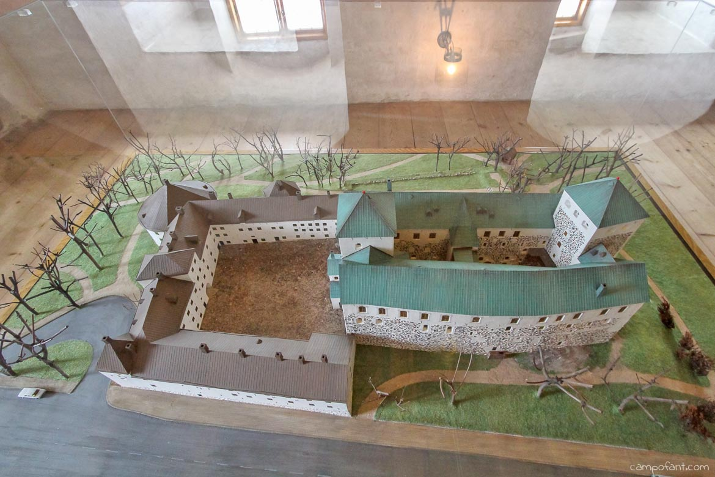 Burg Turku Miniatur