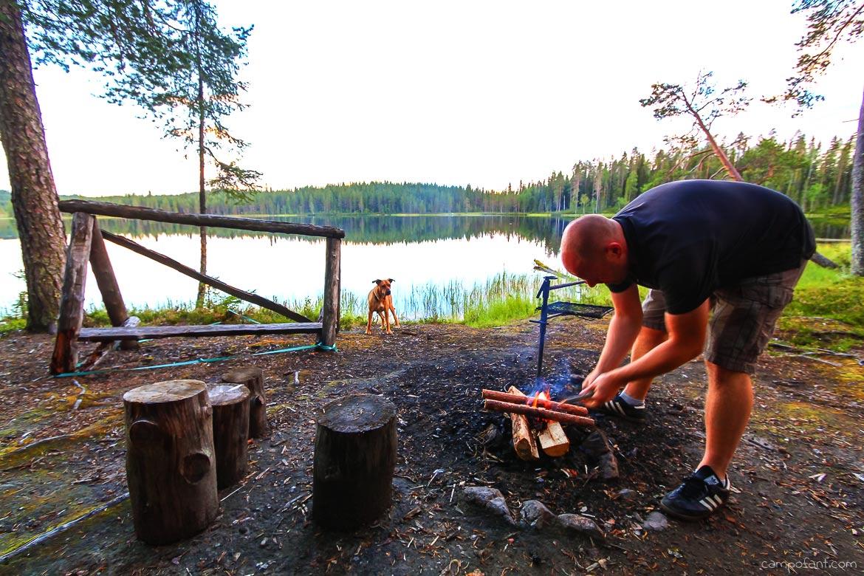 Feuerstellen Finnland