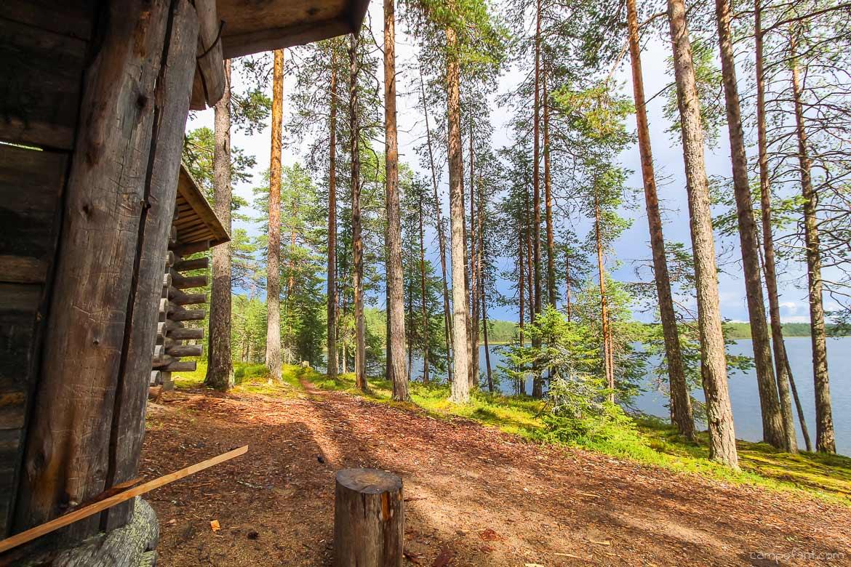 Finnland Wildnis wandern