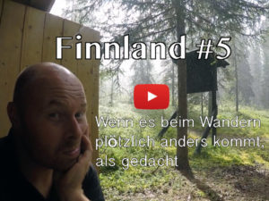 Finnland, Wandern, Unwetter, Gewitter, Regen, Vlog