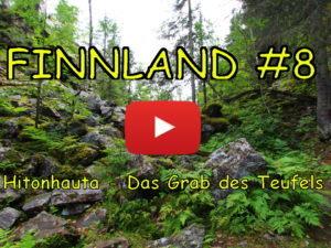 Finnland, Hitonhauta, Teufel, Grab, Wandern, Vlog