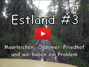 Estland, Moorleichen, Oldtimer Friedhof, Vlog