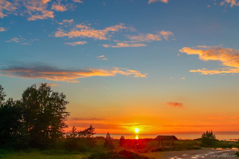 Sonnenuntergang Lahemaa