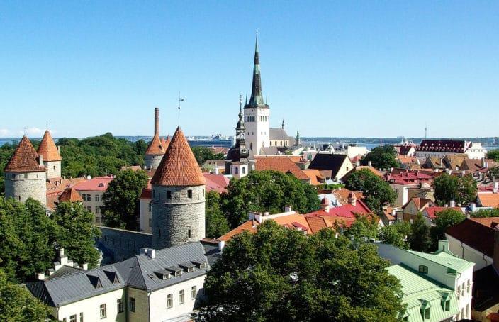 Reisebericht, Estland, Tallinn, ansehen, Versuch, Park & Ride, Besichtigung, Altstadt