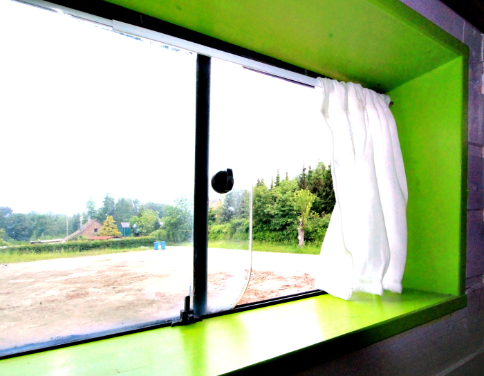 Blick aus dem Wohnmobil