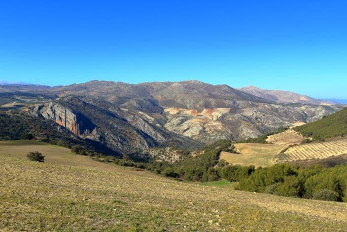Antequera Berglandschaft