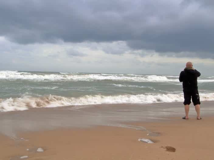 Reisebericht, Spanien, Strand, Unwetter