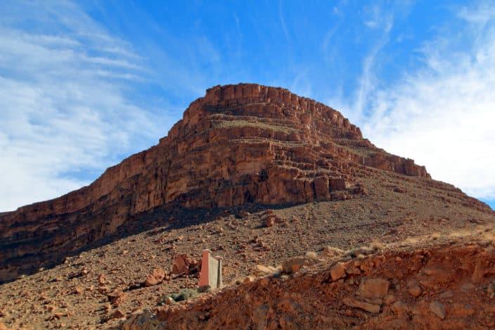 Marokko, Gebirge, Felsen