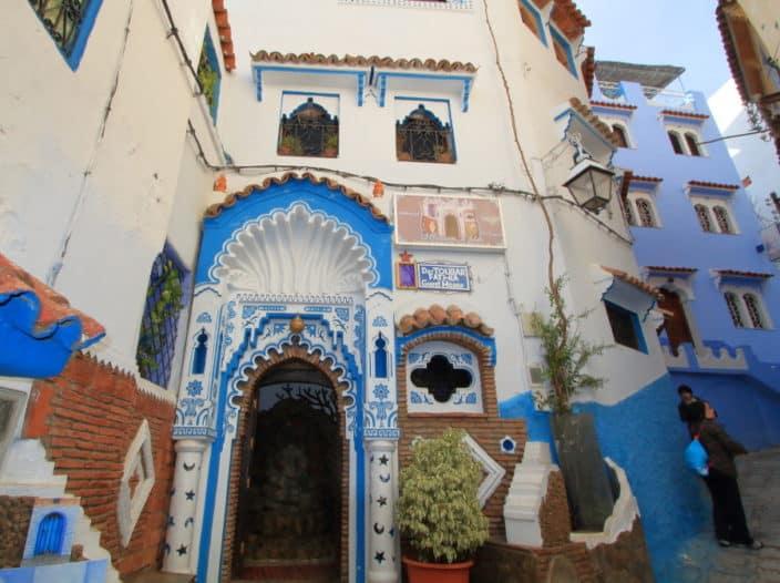 Reisebericht, Chefchaouen, Blaue Stadt, Marokko