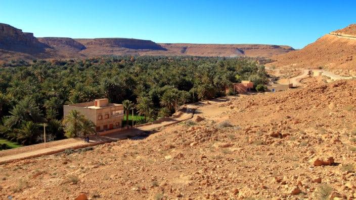 Marokko, Oase