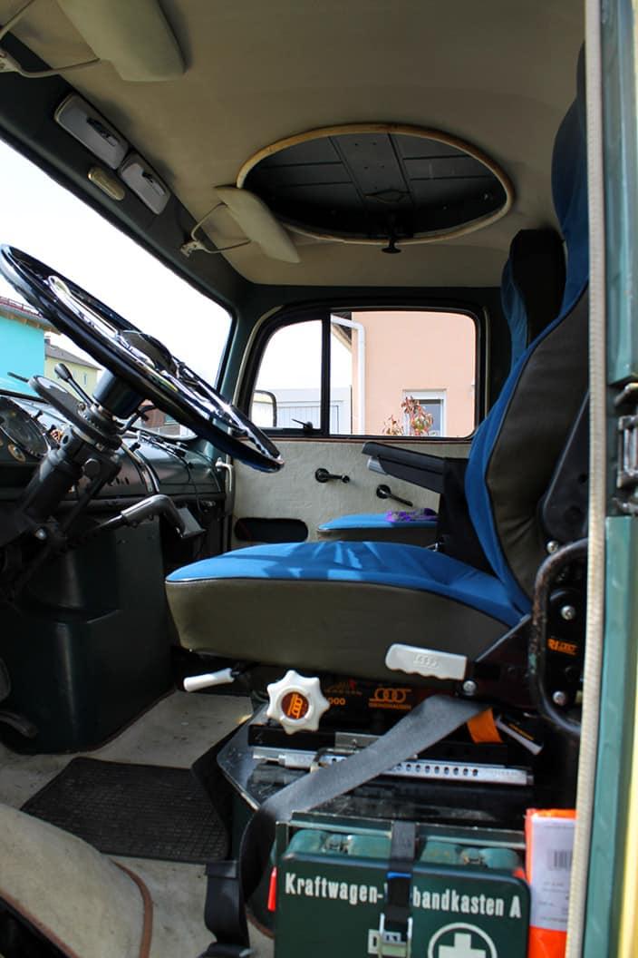 Fahrerhaus, Mercedes 911