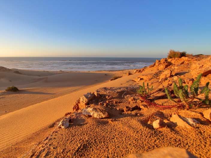 TanTan Plage, Strand, TanTan, Küste, Marokko