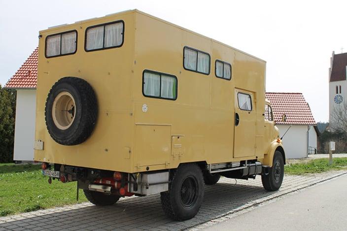 Wohnmobilausbau, Mercedes 911