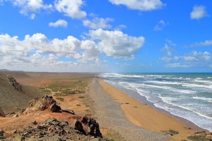 Plage Blanche, Marokko