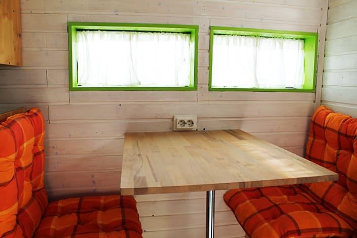 Sitzgruppe, Wohnmobil