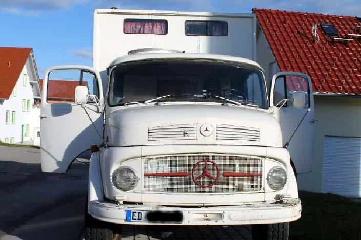 Oldtimer LKW, Mercedes