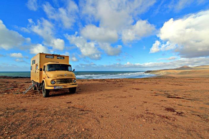 Marokko mit dem Wohnmobil, Wildcampen