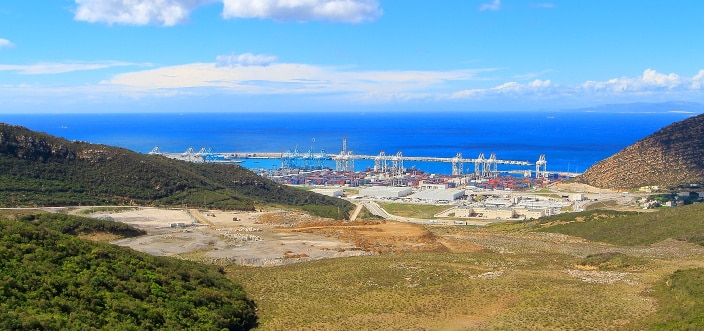 Tanger Med Hafen