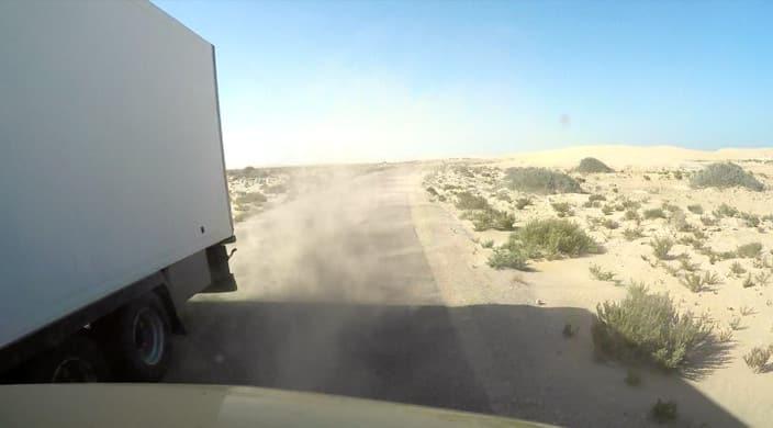 Sandsturm, Marokko