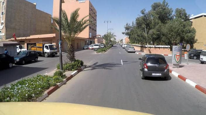 Straße, Laayoune