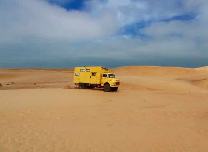 Mercedes 911, Wüste