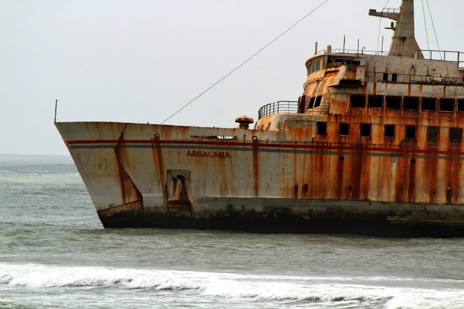 tarfaya, schiffswrack, assalama