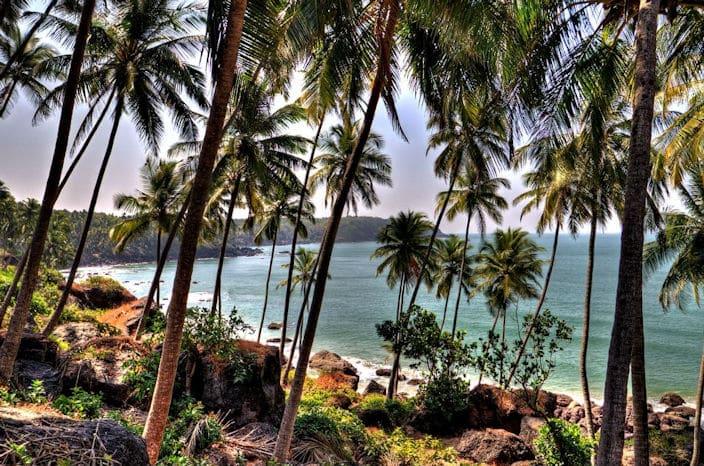 cabo de rama, Goa Strand