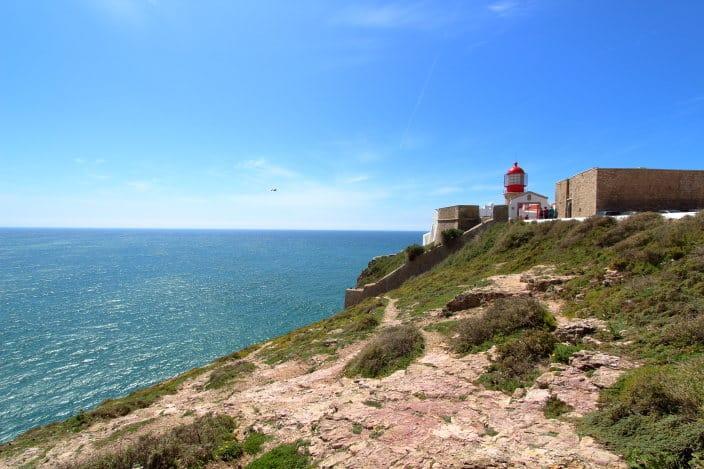 Leuchtturm Westküste Portugal Letzte Bratwurst vor Amerika Portugal Reisebericht Wohnmobil
