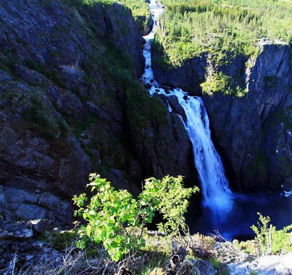 Voringfossen Wasserfall Norwegen