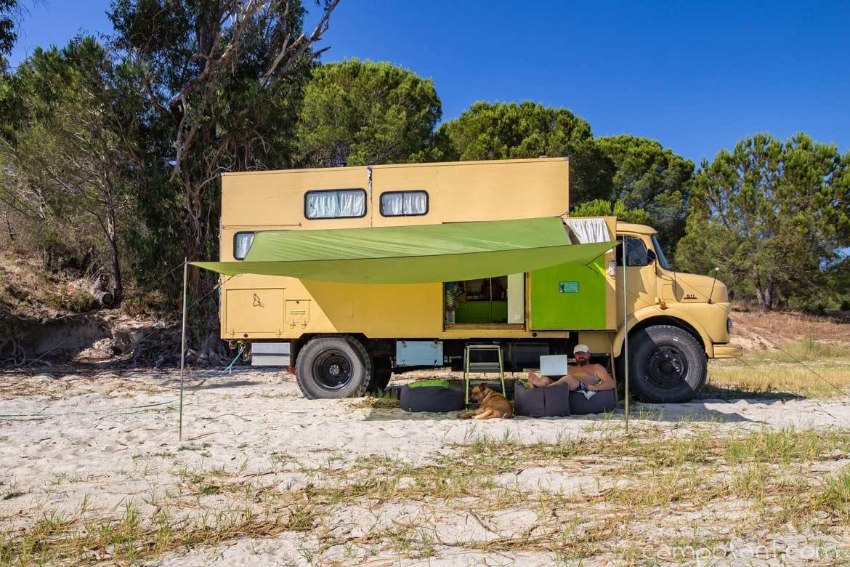 Wildcampen Europa: So geht frei stehen mit dem Camper - Campofant
