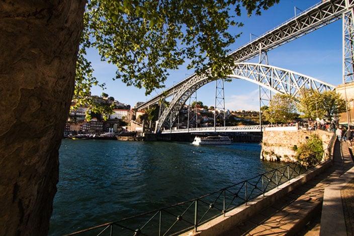 Ponte Dom Luís I, Douro