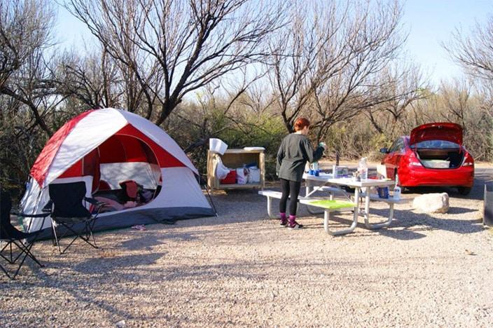 Campingplatz Texas