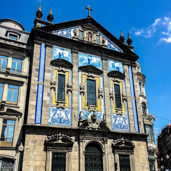 Gebäude Porto