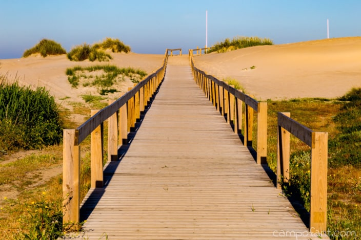 Weg Strand Apulia