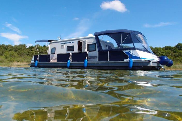 Camping auf dem Wasser, Wasser Camper