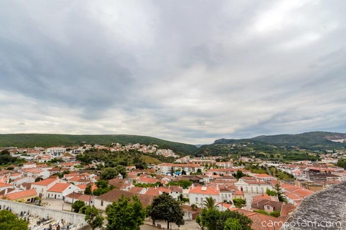 Ausblick, Burg, Porto de Eos